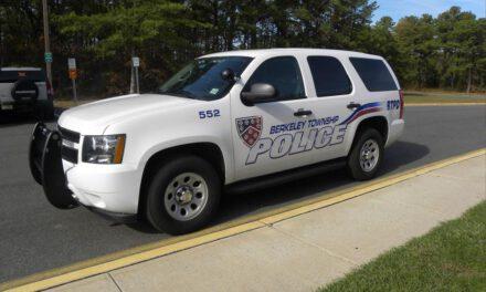 Berkeley Township: Motor Vehicle Accident