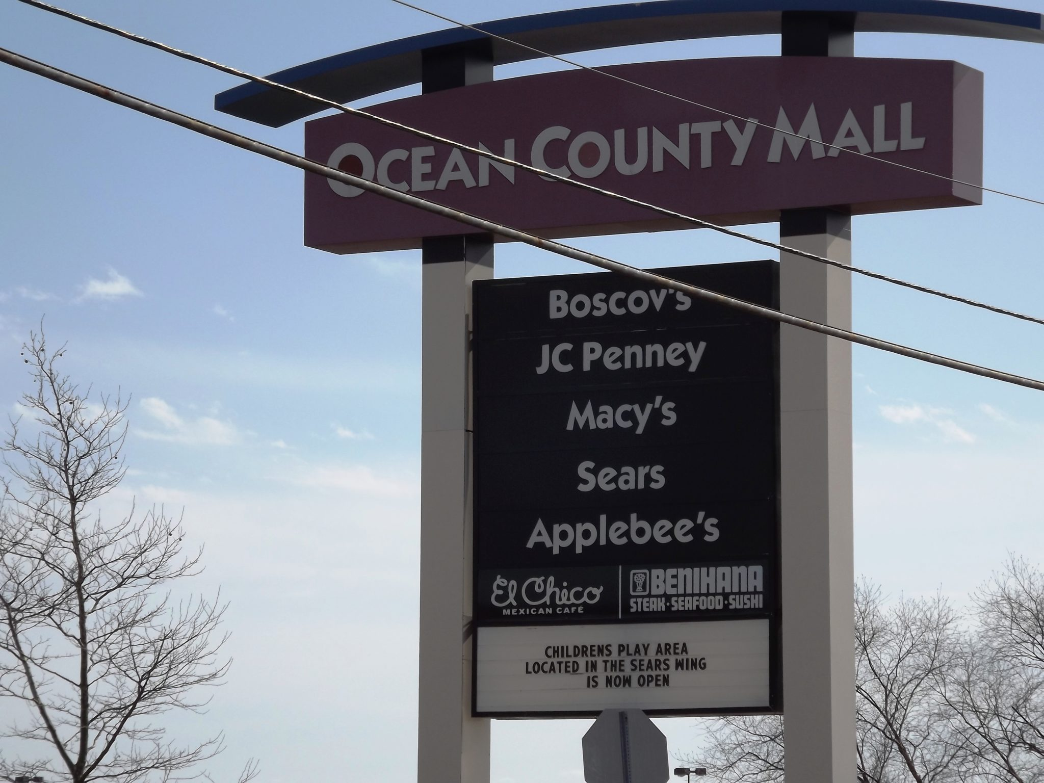 TOMS RIVER: Ocean County Mall Evacuation