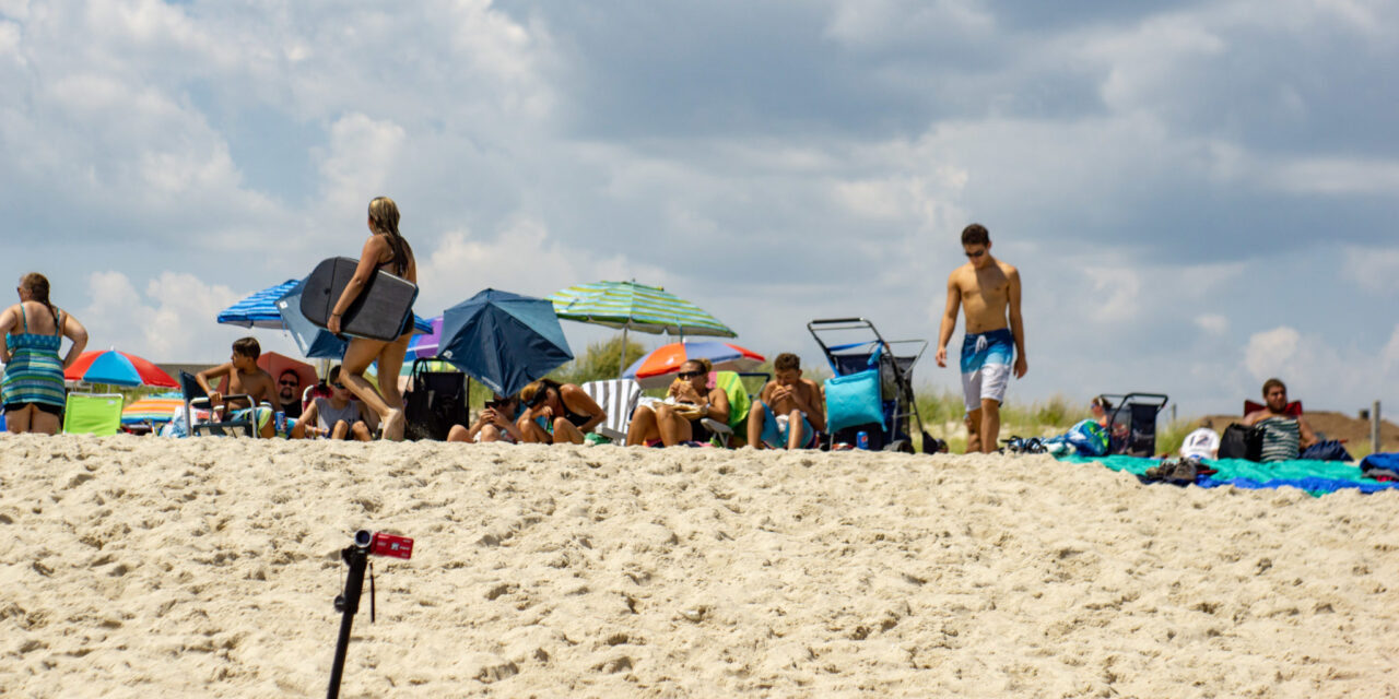 BELMAR: Boy Gets Trapped in Sand