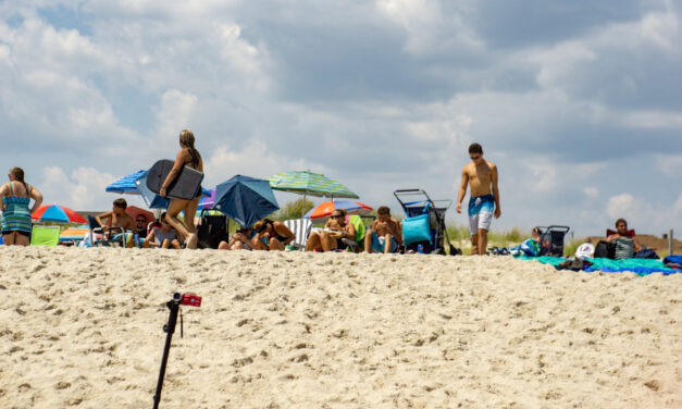 BELMAR: Boy Gets Trapped in Sand