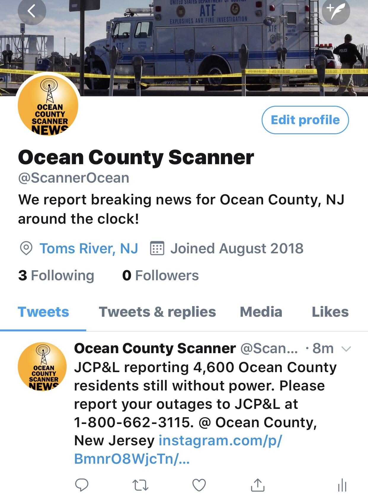OCSN on Twitter