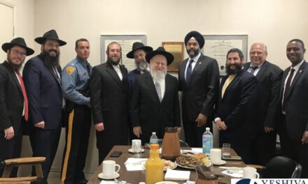 PHOTOS: N.J. Attorney General Gurbir Grewal Visits Chabad NJ Headquarters In Morristown