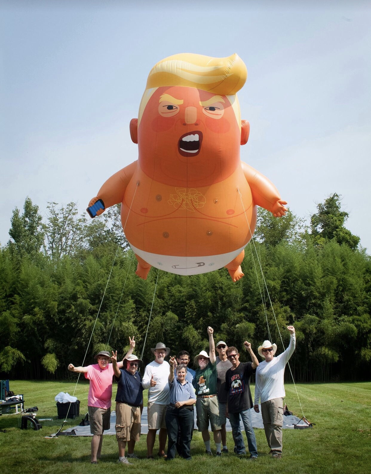 Trump Balloons Coming to N.J.!