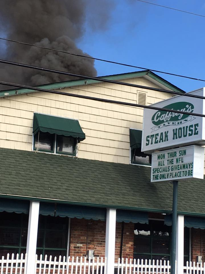 Lacey: Caffrey's Tavern- Working Structure Fire
