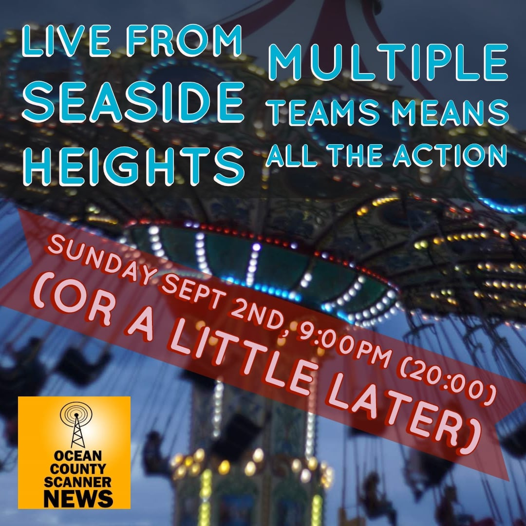 Time Change – Live from Seaside Heights! – Tonite after 9:00PM
