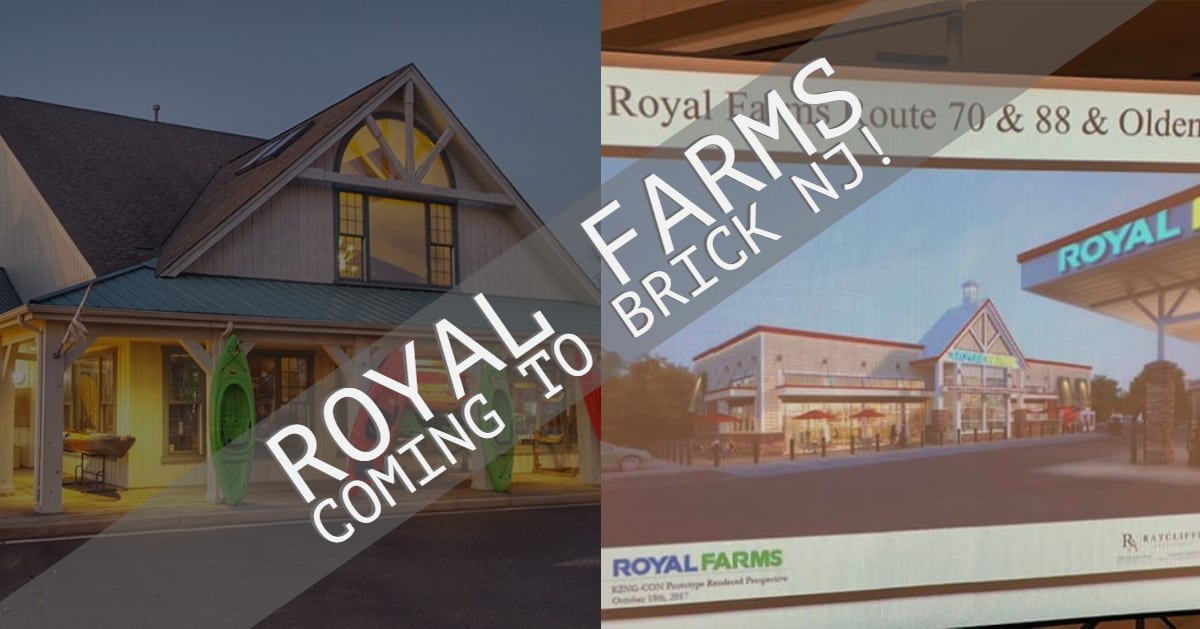 BRICK: Royal Farms to replace Jersey Paddler