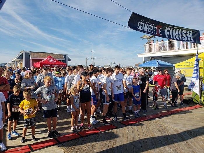 Seaside Park: Semper Five Marine Run Draws Families
