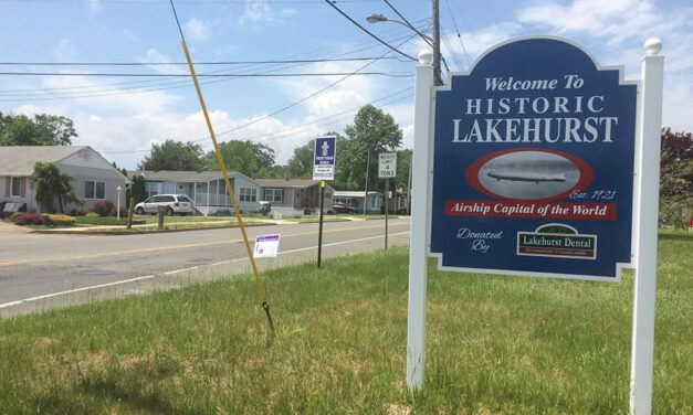 Gas Leak In Lakehurst