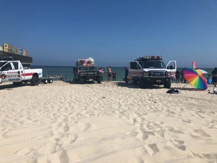 Update: Pipe Bursts On Dredge Barge Off Seaside Heights, Three Injured.