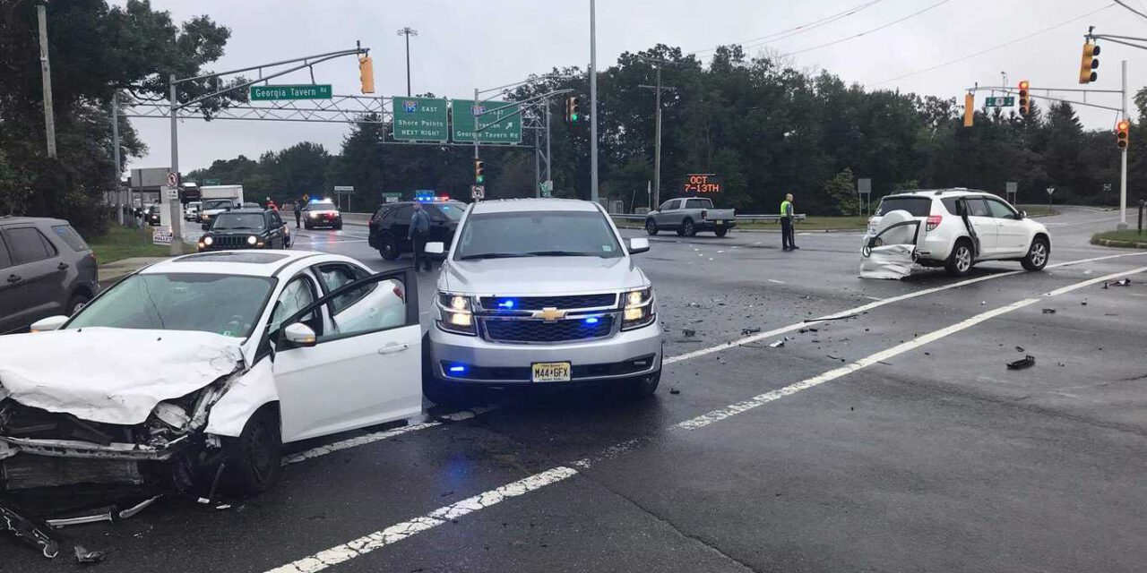 HOWELL: Woman Brandishing Knife Arrested After Pursuit And Crash