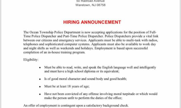 Ocean PD: Dispatchers Wanted!