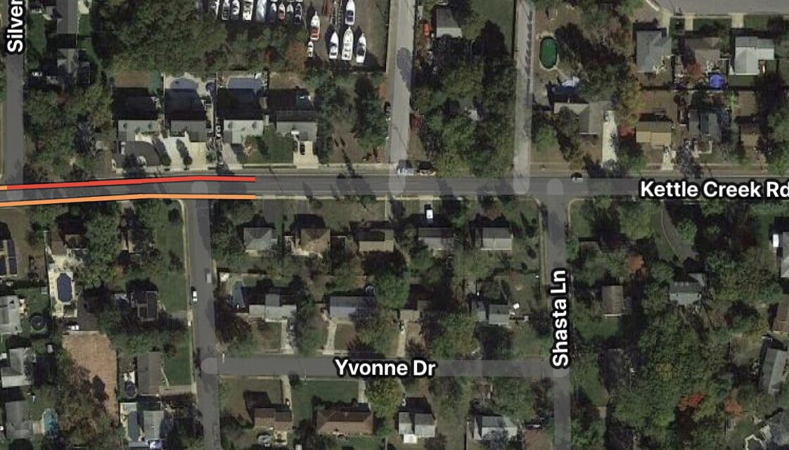 Toms River: 131 Kettle Creek- Gas Line Struck