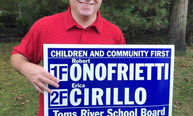 TOMS RIVER: Onofrietti & Cirillo Call for Immediate Resignation Of Chris Raimann!