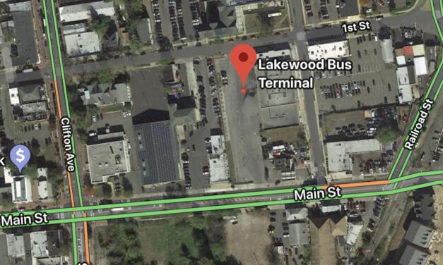 LAKEWOOD: NJ Transit Bus Terminal- Fight