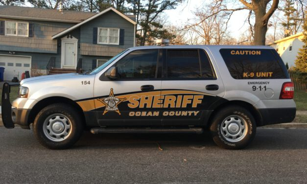 TOMS RIVER: Slumped Over Driver Flees- OCSD Apprehends Later at Gunpoint
