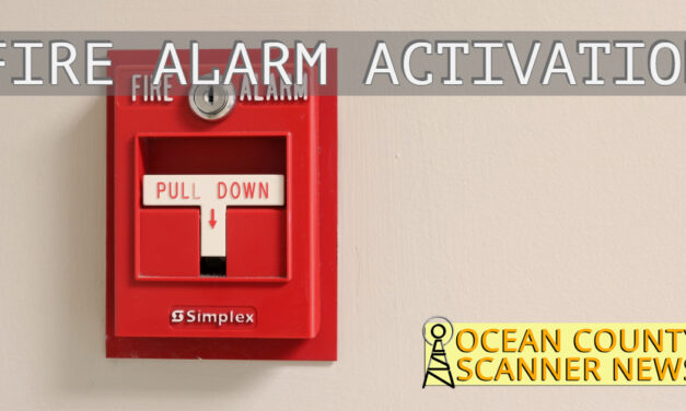 Seaside Heights: Fire Alarm Activation