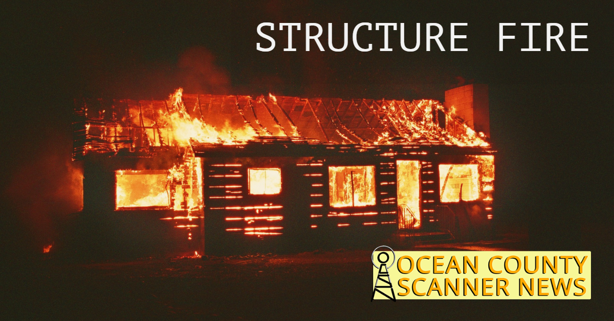 Barnegat: Structure Fire