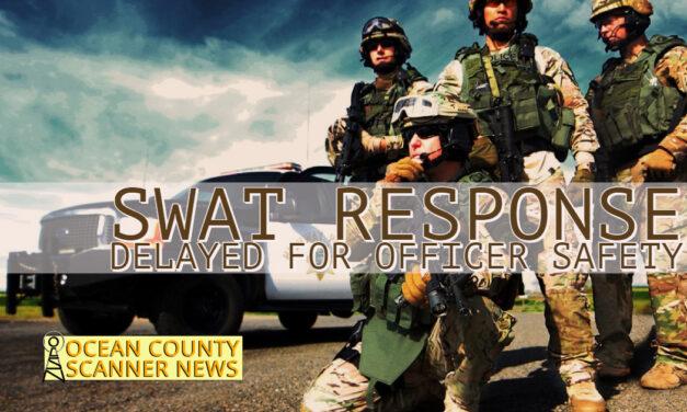 DELAYED FOR OFFICER SAFETY: HAZLET – Swat Standoff!