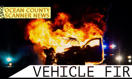 FREEHOLD: Fully Involved Vehicle Fire (Route 9 South Bound – Fast Lane)