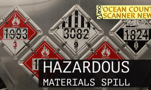 SPRING LAKE: Gas Spill On Roadway
