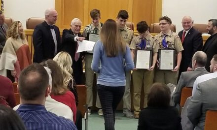 TOMS RIVER: Code Blue Plan, Eagle Scouts and New Police Officers (Town Council Meeting).