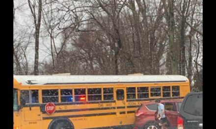 TR: MVA w/ Bus Involved