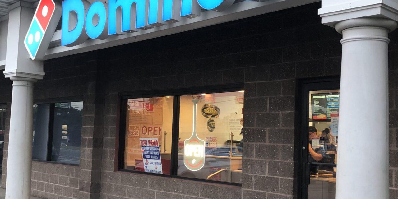 BARNEGAT: Dominos Pizza- Burglary