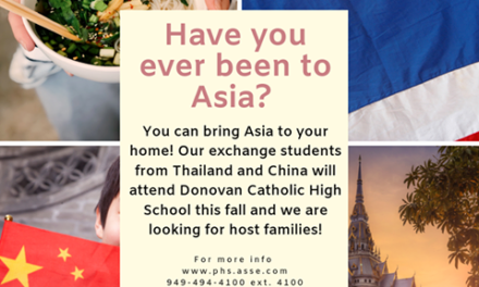 Interested in Hosting Foreign Exchange Students?