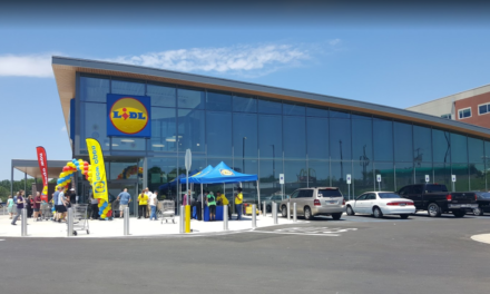 LACEY: Vandalism at Lidl