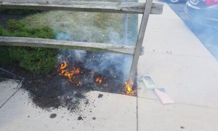 Seaside Heights: Mulch Fire