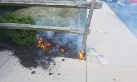 TOMS RIVER: Downtown Mulch Fire