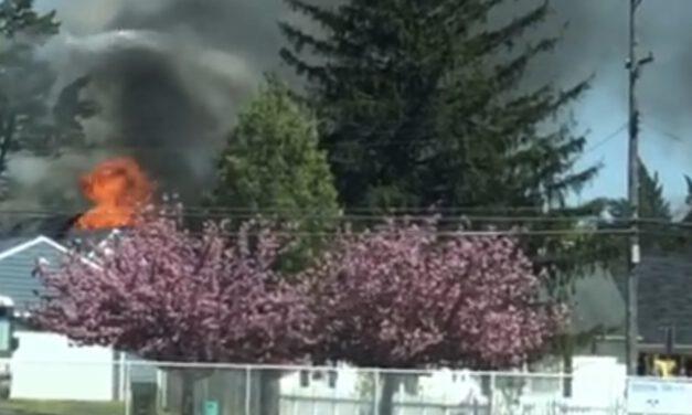 TUCKERTON: Structure Fire Video
