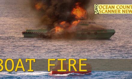 Little Egg Harbor : Boat fire investigation