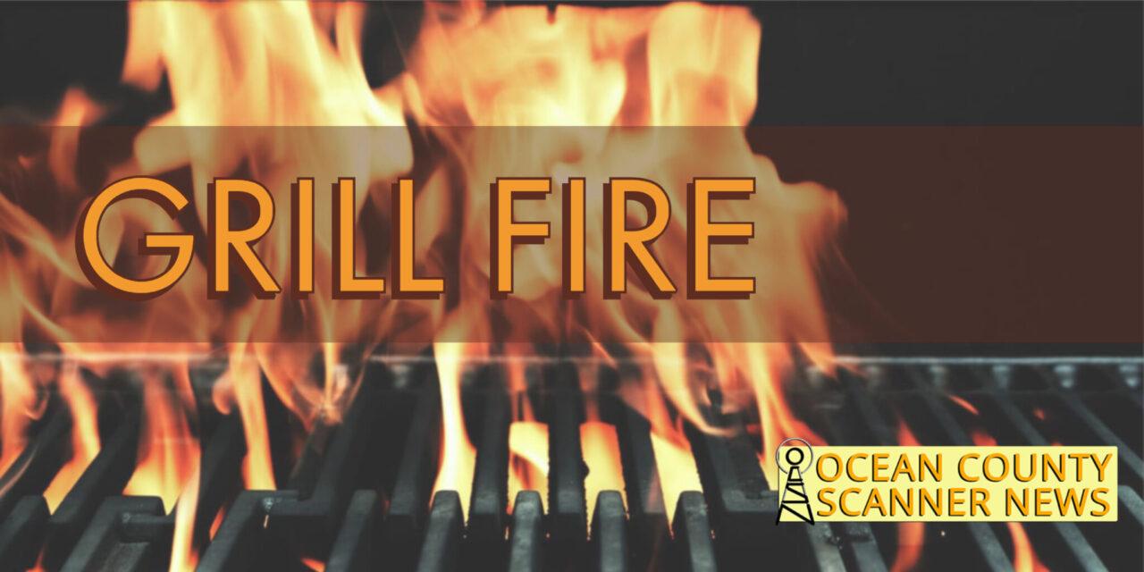 BEACHWOOD: Grill Fire