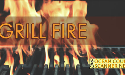 Seaside Heights : Grill Fire