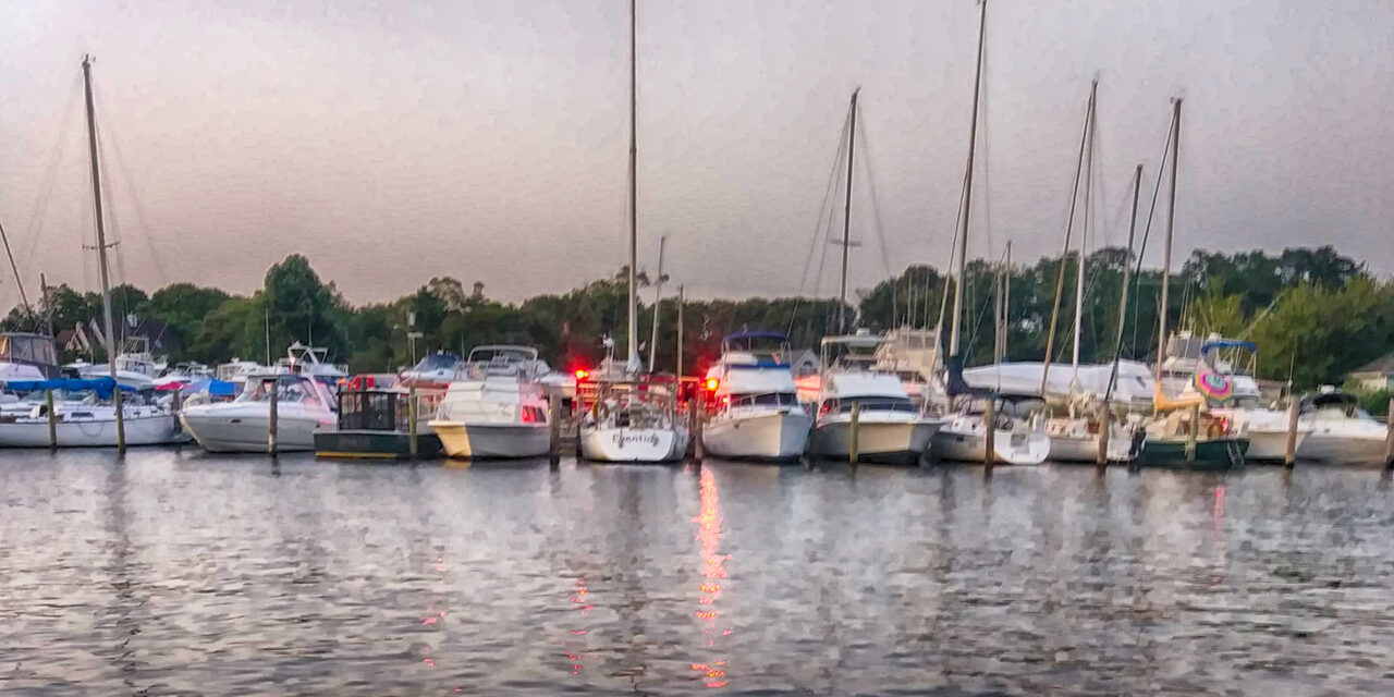 Lacey: Boat Fire