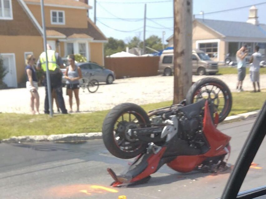 TR: Today's Serious Motorcycle Accident- Update