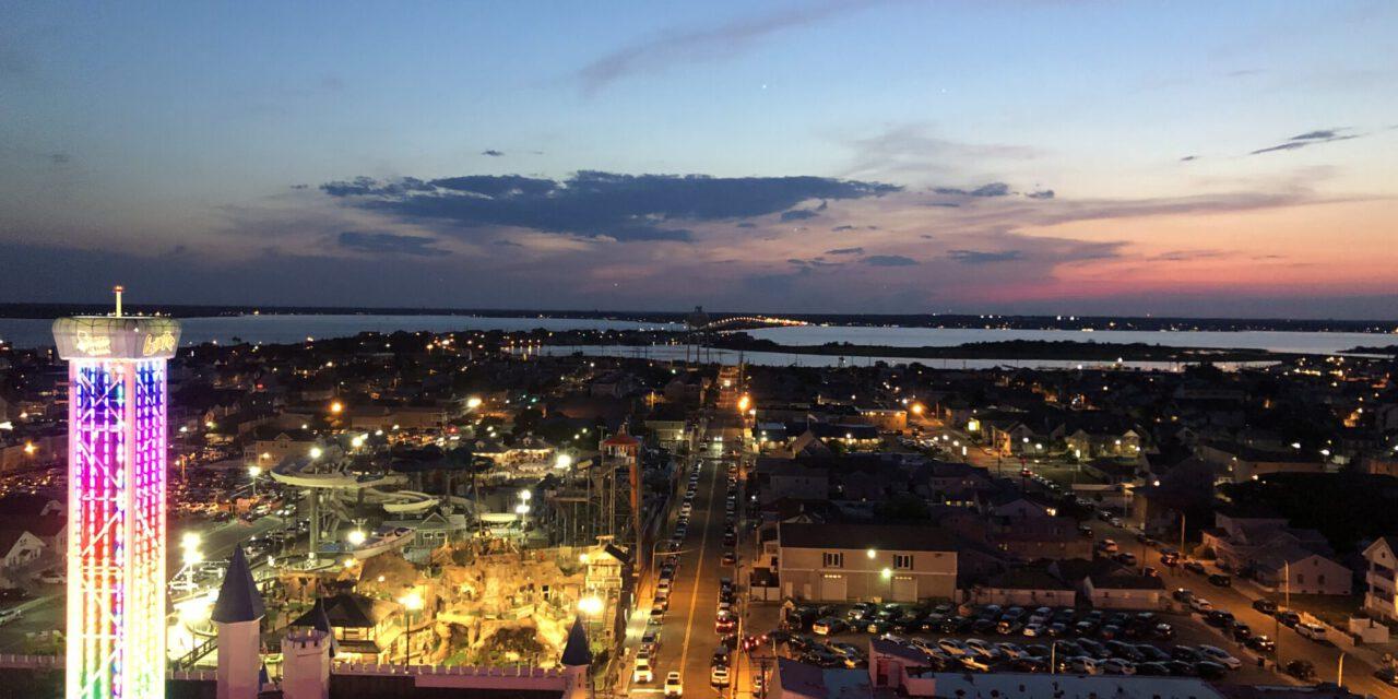 SSH: Views Atop the Ferris Wheel!
