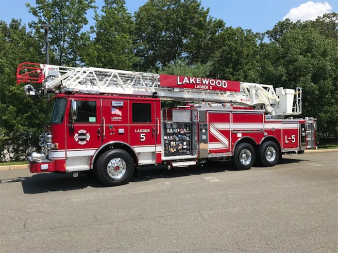 Lakewood Fire District Gets New Ladder Truck