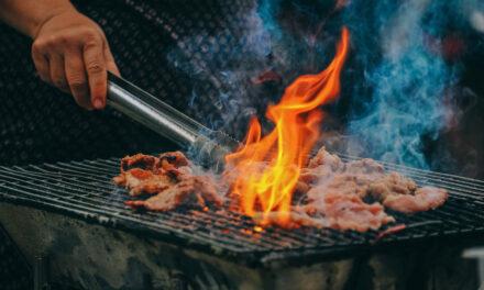SSH: Grill Fire