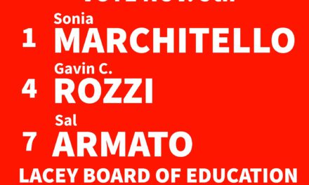 LACEY: Vote the Rozzi Slate for BOE!