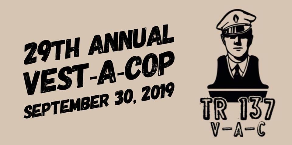 TOMS RIVER: 29th Annual Vest-A-Cop @ Pizza Hut- Tonight!