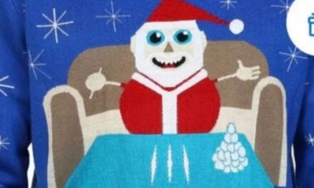 Cocaine Santa Sweater removed by Walmart