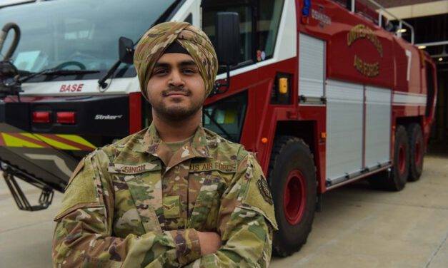JOINT BASE: Airman Among First to Wear Turban as Regulated Uniform