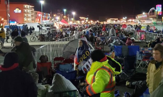 WILDWOOD: Tens of Thousands Already There for Trump