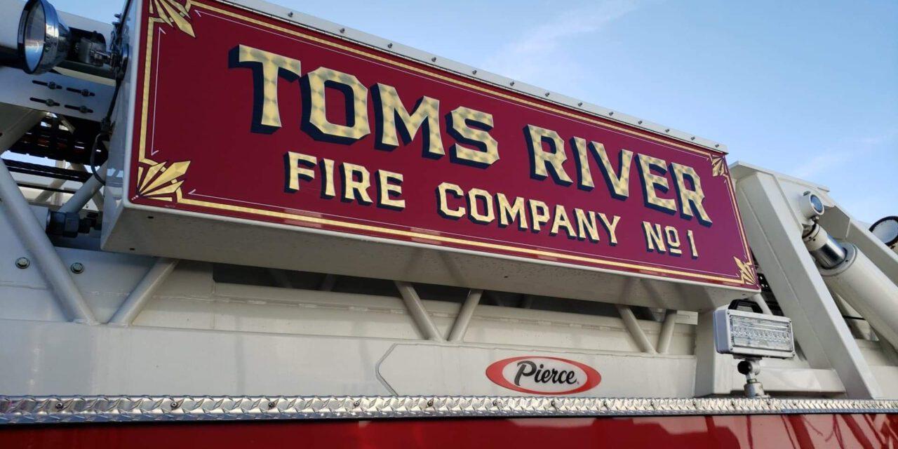 TOMS RIVER : TOMS RIVER FIRE COMPANY MASCOT PASSES .
