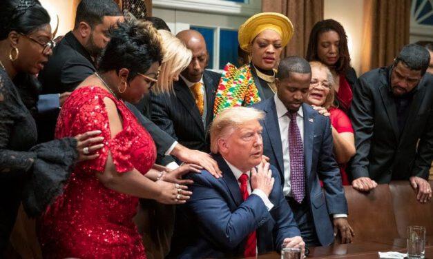 Former NFL player Jack Brewer declares Trump 'first black president'