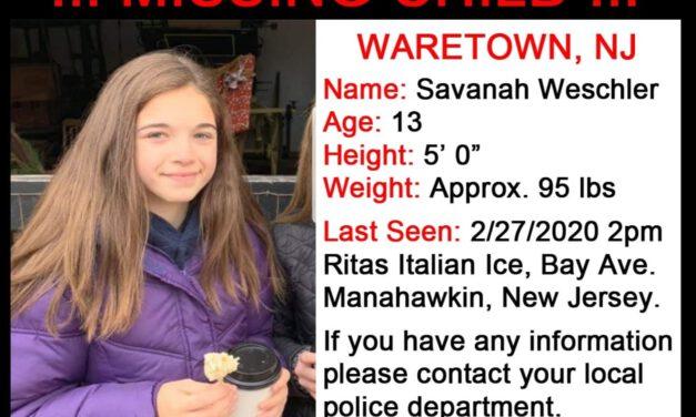 Waretown: Missing Teens Located Safe