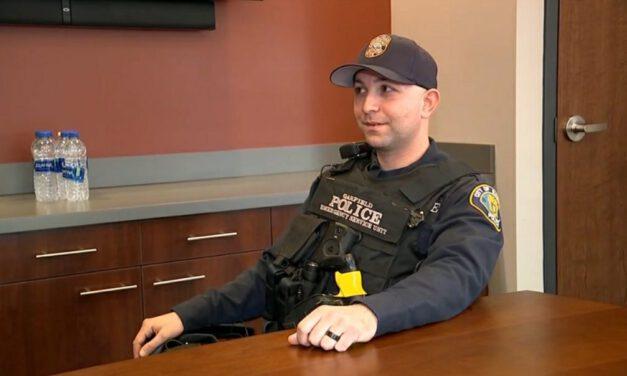 NJ Police Officer Helps Homeless Family