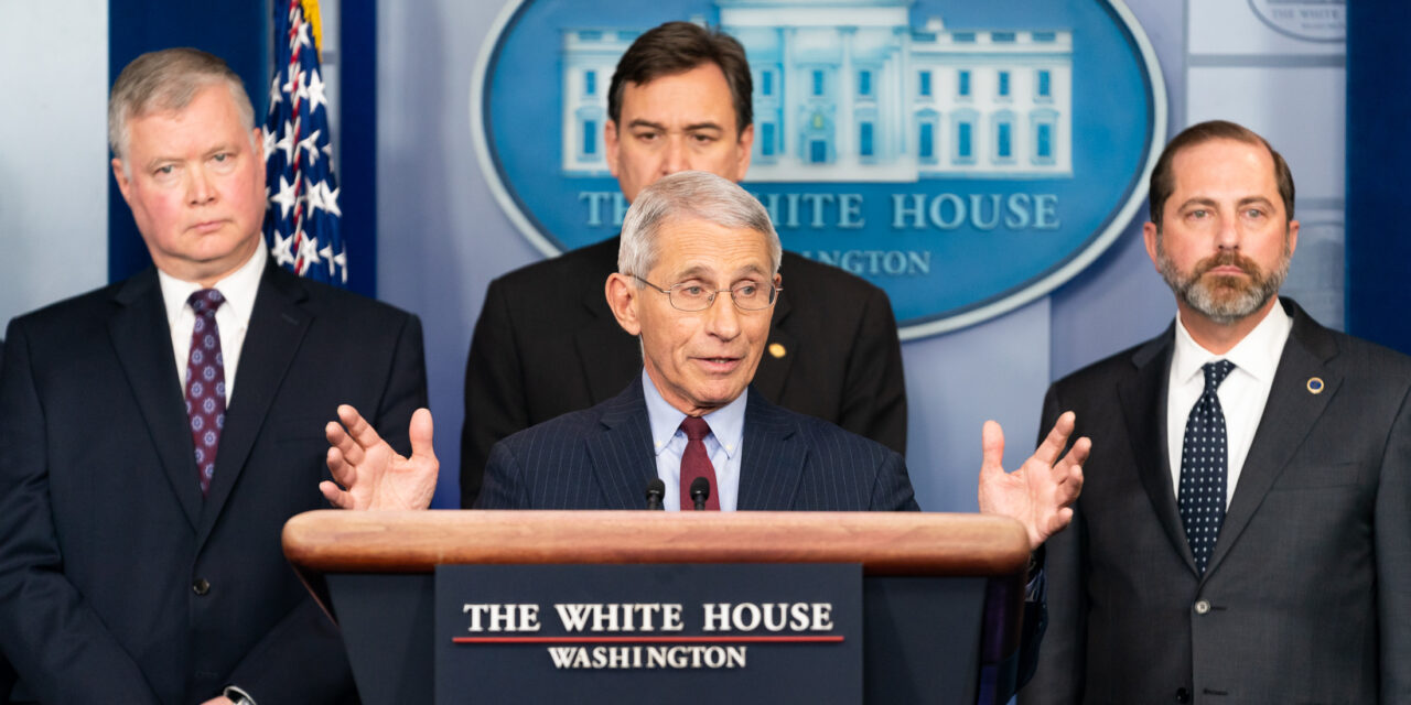 """FAUCI: """"We see 'glimmers' that social distancing is working"""""""